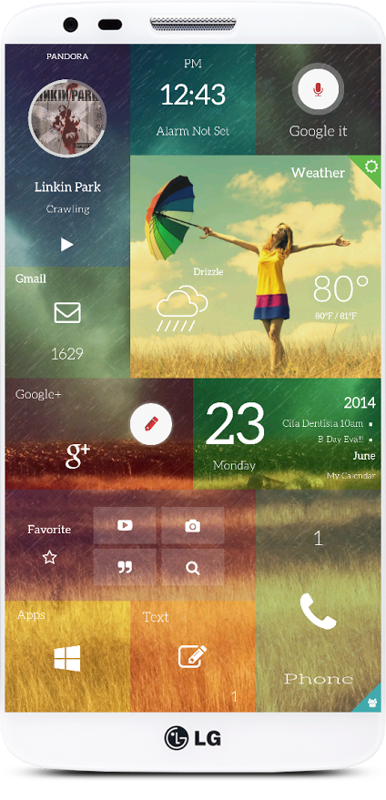 Windows Phone 9 or Just the Best Android Launcher Ever