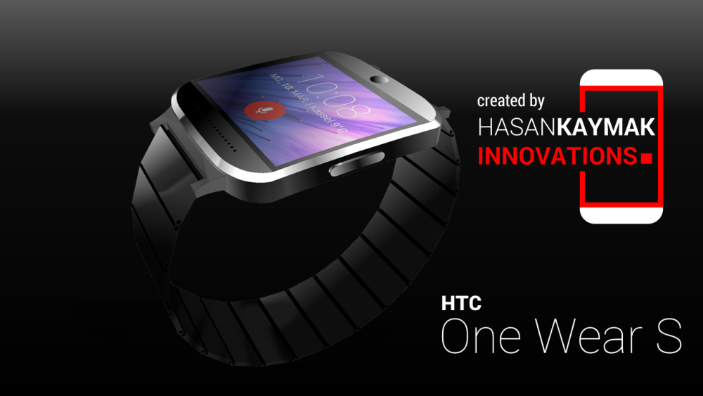 HTC Droid DNA 2 and HTC One Wear S Smartwatch Rendered by ...