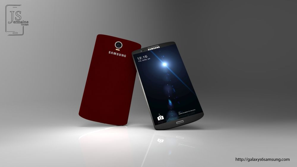 Samsung Galaxy S6 Imagined by Jermaine Smit: Here's the ...