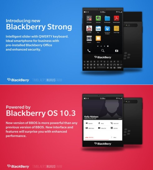 BlackBerry Strong is an Alternative to the Passport Model