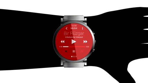 Hasan Kaymak Renders the HTC Android Wear Watch: HTC One Wear