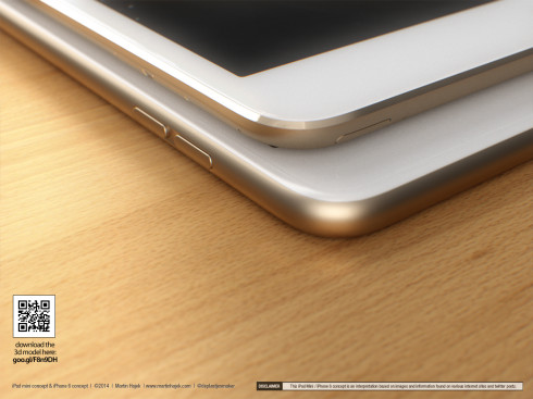 iPad Mini 3 Gets Beautiful 3D Design Courtesy of Martin Hajek