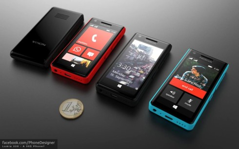 Phone Designer Creates Nokia Lumia 330, the Nokia X With Windows Phone