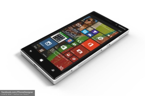 Nokia Lumia 830 Portrayed in Fresh Design, Courtesy of Jonas Daehnert