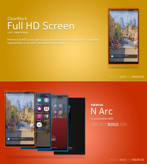 Nokia N Arc Handset Is the Nokia N9 Successor Everyone Wants