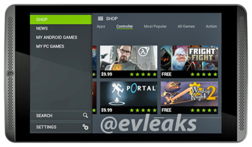 Nvidia Shield Tablet is a Perfect Gaming Device, Heres a Render!