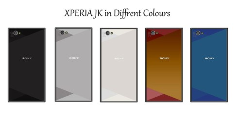 Sony Xperia JK is a New Flagship With 4 GB of RAM, Fingerprint Scanner and Front Speakers