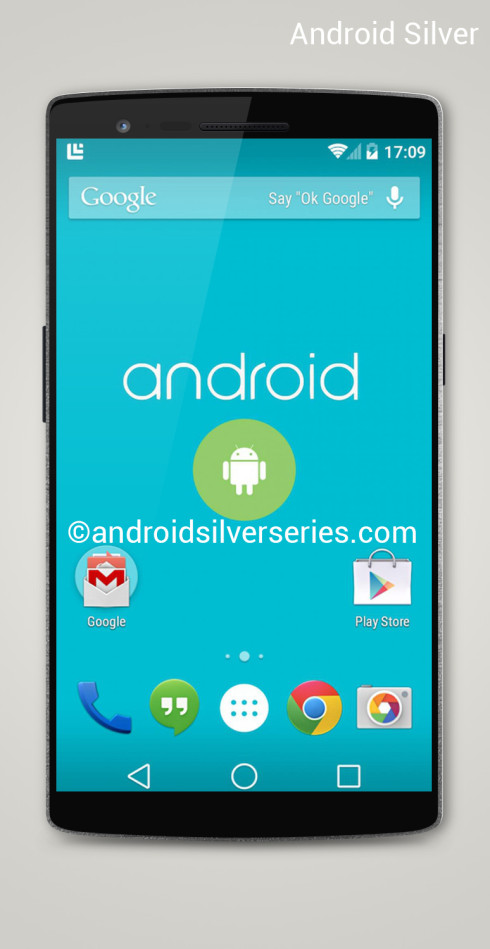 Android Silver Gets Turned Into a Render; Android L Somehow In the Mix