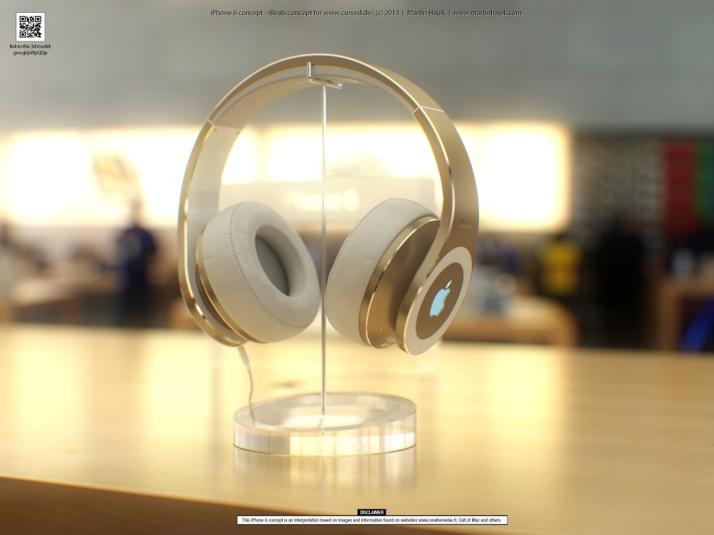 Apple Concept Phones Apple Ibeats Concept 1