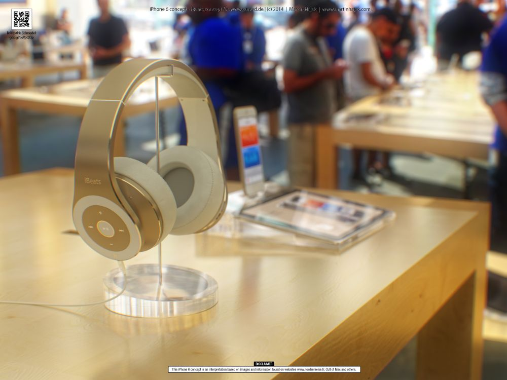 Apple Concept Phones Apple Ibeats Concept 2