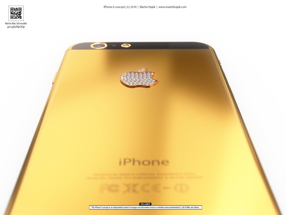 Gold iPhone 6 is Pure Eye Candy