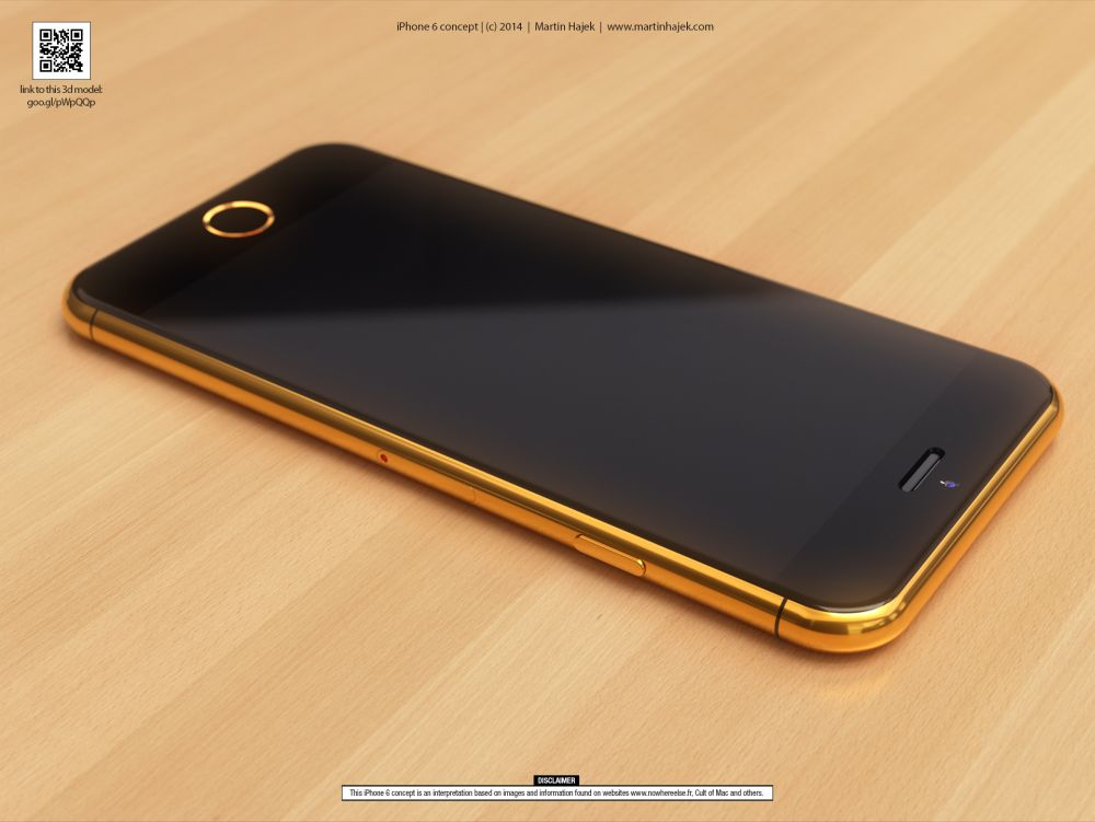 gold iphone 6 is pure eye candy concept phones. Black Bedroom Furniture Sets. Home Design Ideas