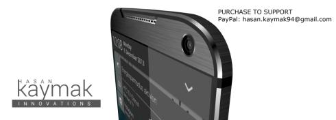 HTC One M9 concept Hasan Kaymak 1