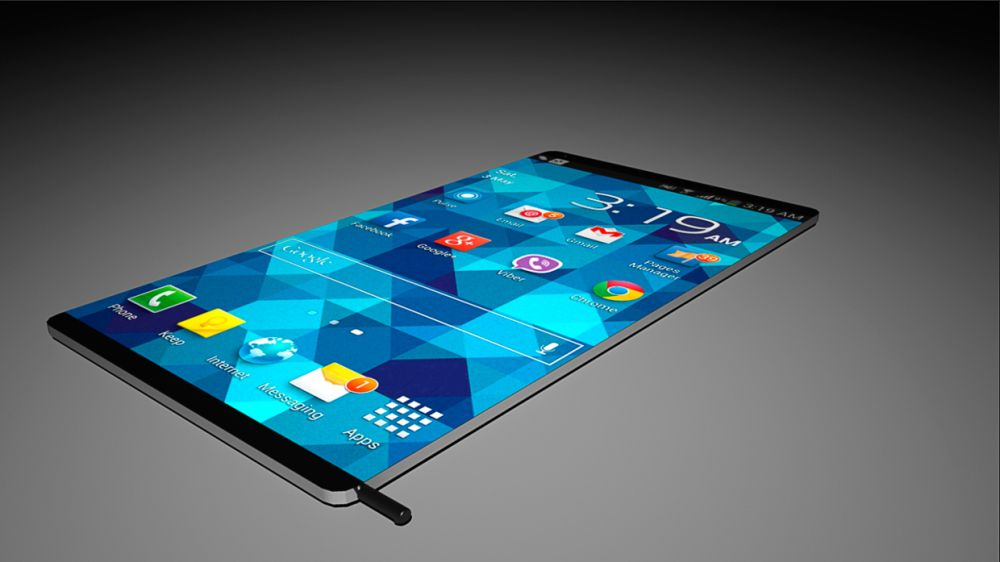 Samsung Galaxy Note 4 Gets Renders to Match the Leaks  Courtesy of    Galaxy Note 4 Concept