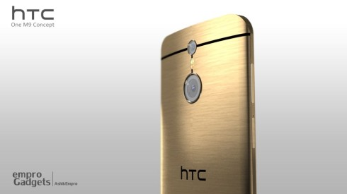 New HTC One M9 Render Goes Back to Metal, Looks Stunning