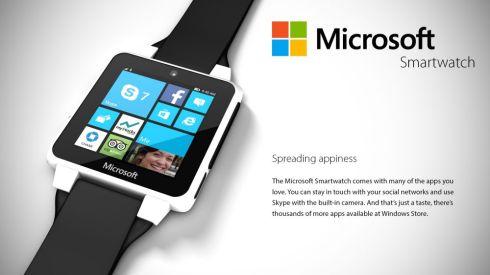 Microsoft Smartwatch Concept Runs Windows Wear 8.1, Looks Pretty Solid