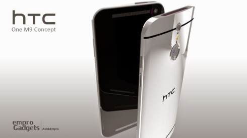 HTC One M9 Concept Images Created by Ashik Empro (Part 1)