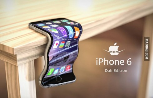 #Bendgate Goes Viral; iPhone 6 Dali Edition is an Ironic Render