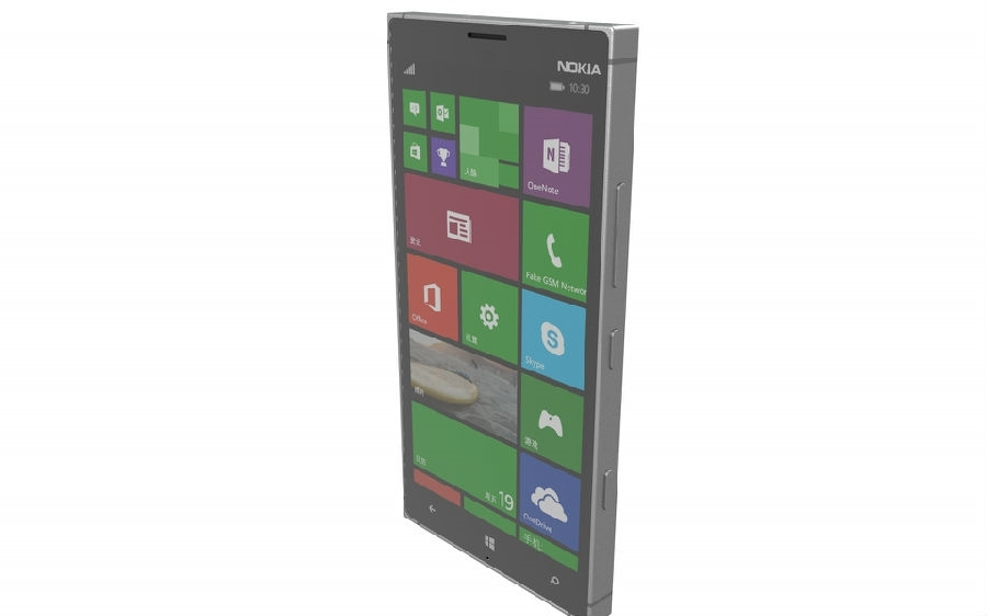 Nokia Lumia 1625 Nokia Lumia 1030 Rendered