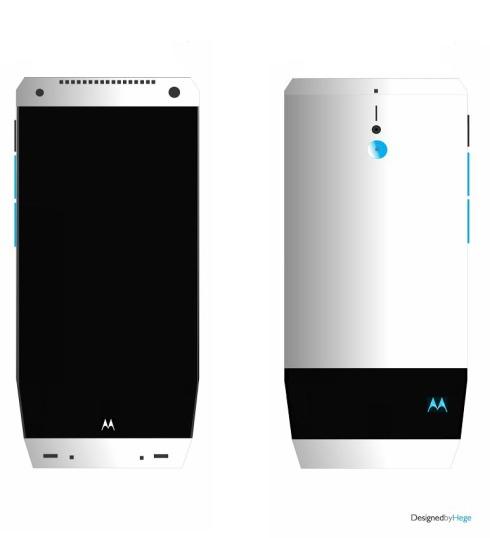 Motorola RX Render Uses a Futuristic Design Format