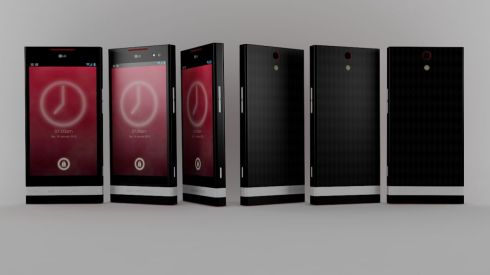 LG Chocolate II Concept Phone Feels Like a Resurrection of the Xperia S