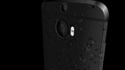 HTC One M9 is Back and Features Back Cover With Unique Texture, Full Aluminum Case