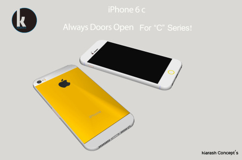 iPhone 6c Render Finalized by Kiarash Kia