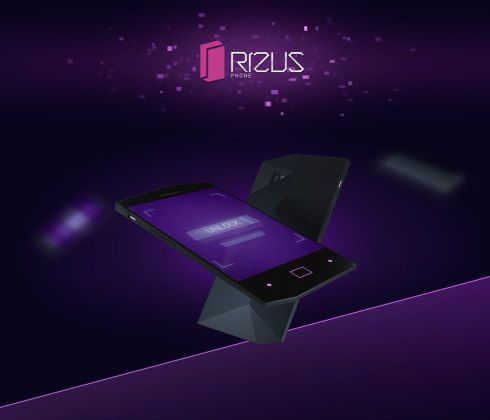 Rizus Phone Concept Envisioned by Andrey Kuznetsov, Has a Sci Fi Vibe