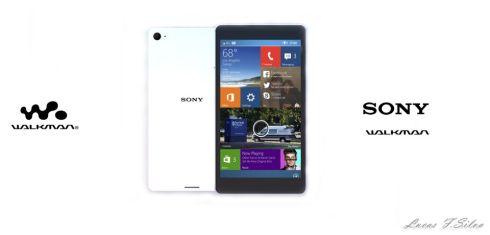 Sony Walkman Rendered in Fresh Version, Runs Windows Phone on 64 Bit CPU