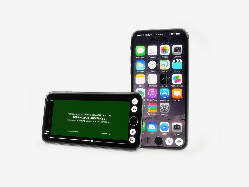 Дизайн телефона как у iphone