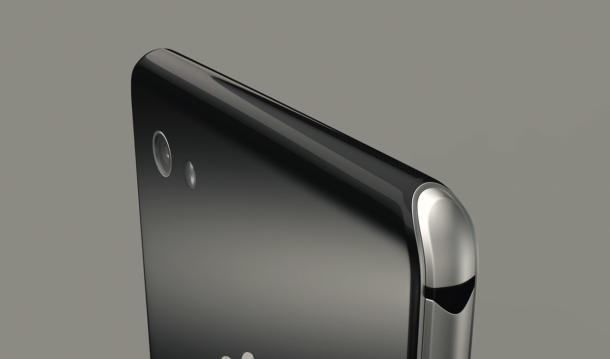 iphone 8 rendered by steel drake excellent design part 2 concept phones. Black Bedroom Furniture Sets. Home Design Ideas