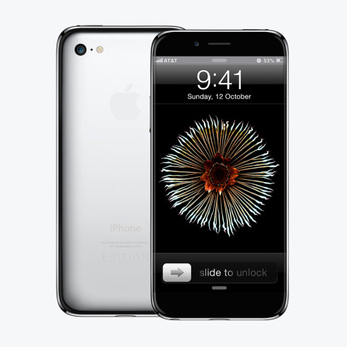 iPhone Edition is Made of Steel, Ditches Home Button
