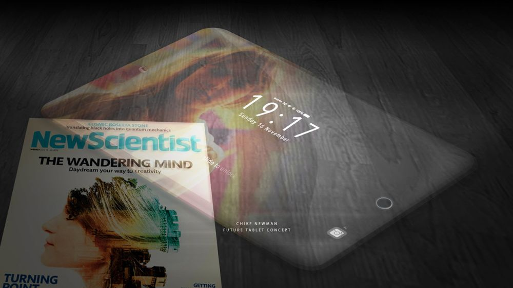 iPad Contact is a Transparent Tablet From the Future ...