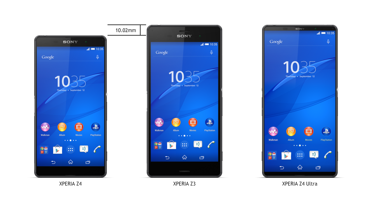 Sony Xperia Z4 and Xperia Z4 Ultra Renders Appear Online | Concept