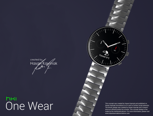 HKI One Wear Would Make a Fine HTC Android Wear Watch