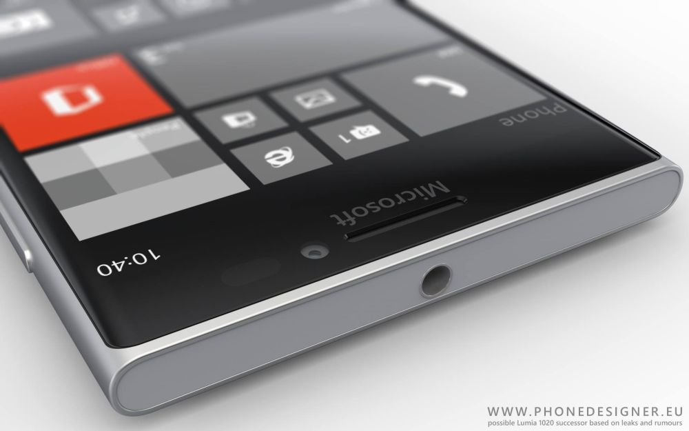 Microsoft lumia 1030 lumia 1040 rendered by jonas daehnert based on
