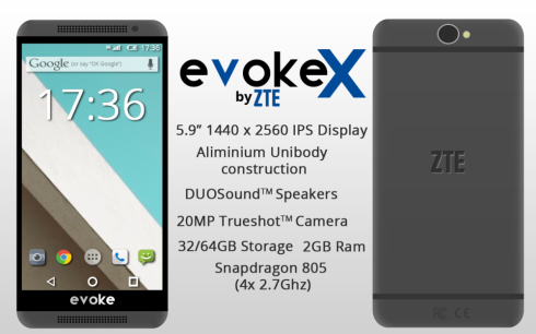 Nick Ludgate Presents: ZTE Evoke X, a Phablet With Aluminum Unibody Design