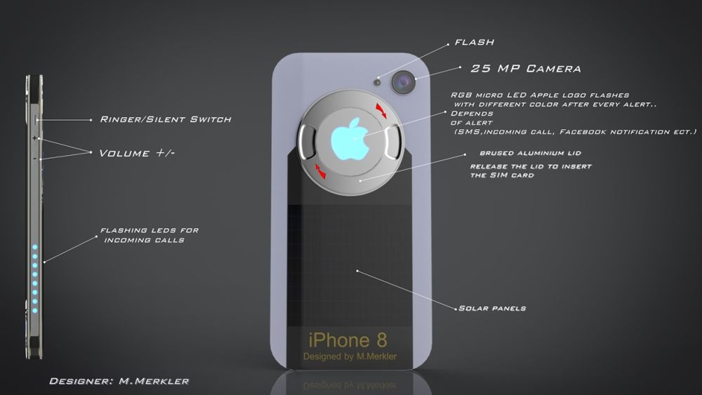 iPhone 8 Concept Looks Like Iron Man's Smartphone | Concept Phones
