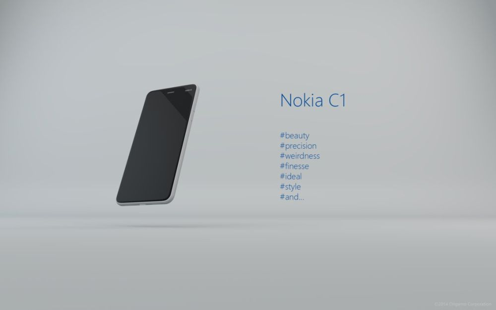 Nokia C1 Phone is Inspired by Nokia N1, Comes From TRUE ...
