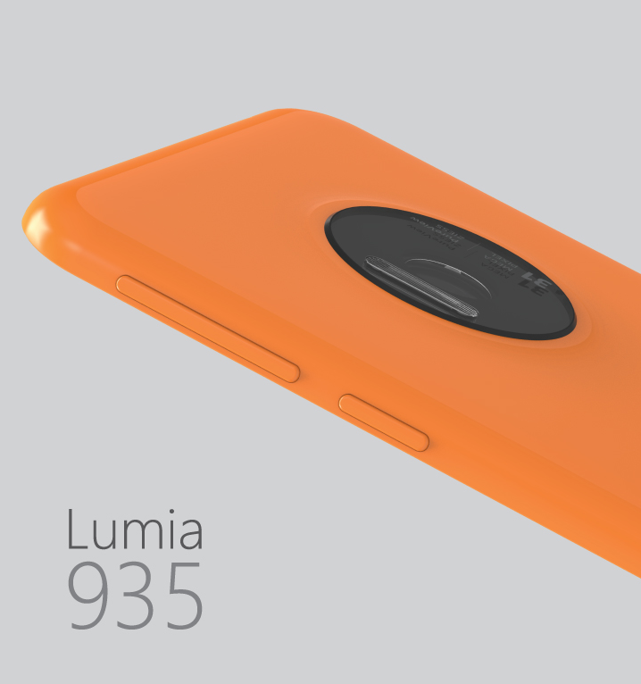 Microsoft Lumia 935 Rendered by Ryan Smalley, Looks Svelte, Packs 31 ...