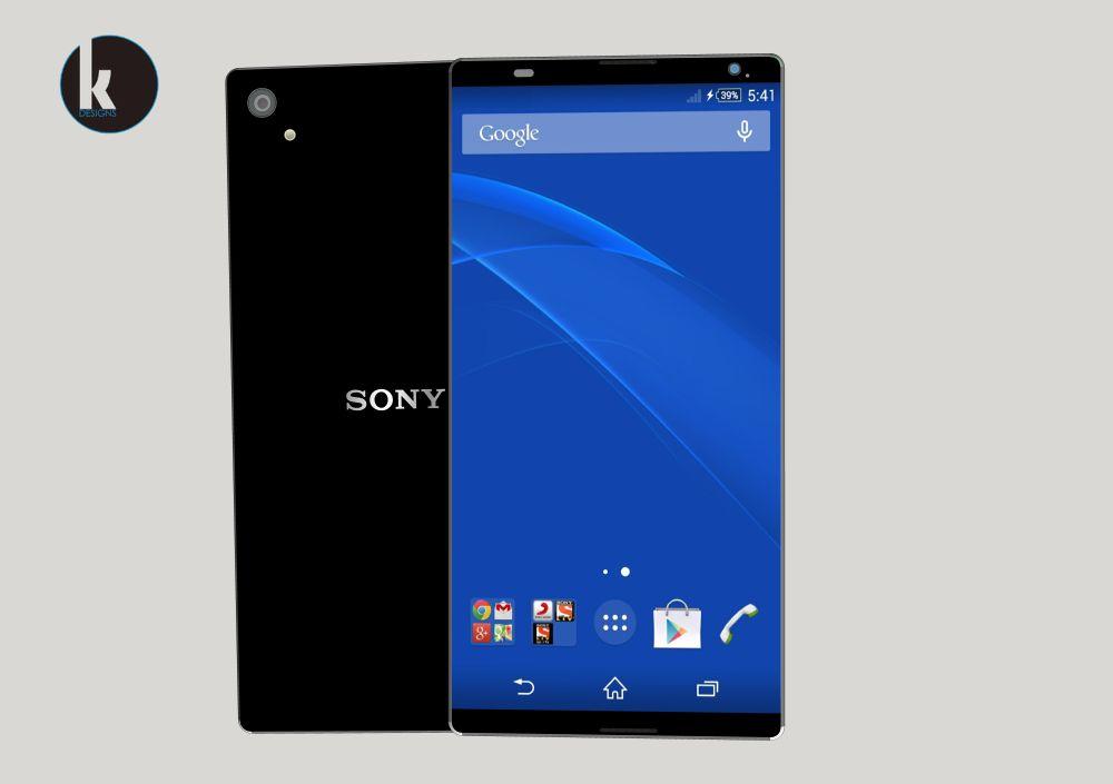 Sony Xperia Z4 Render Finalized by Kiarash Kia, is Only 5.6 Mm Thick