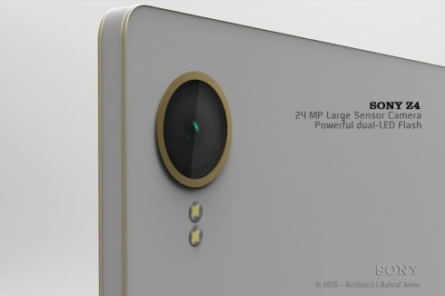 Sony Xperia Z4 2015 Version Rendered by Ashraf Amer, Video Included!