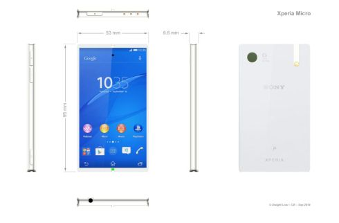 Sony Xperia Micro is Here, Keeps Everything Minimal, at 4 Inches in Diagonal