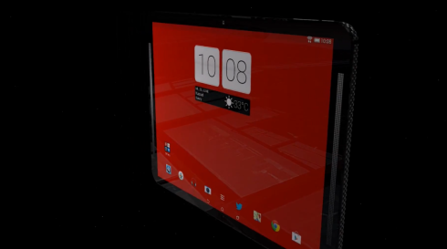 HTC One Carbon Tablet Rendered by Hasan Kaymak Innovations (Video)