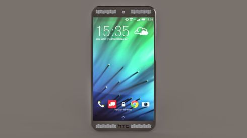 HTC One M9 Concept Finalized by Hass. T, Quad Speakers Included