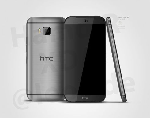 HTC One M9 (HTC Hima) Rendered by Hamdir, Inspired by @evleaks Info