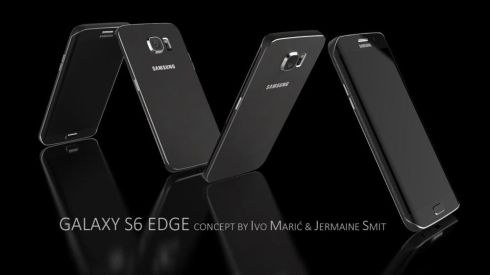 Samsung Galaxy S6 Edge Concept by Ivo Maric and Jermaine Smit Looks Fashionable