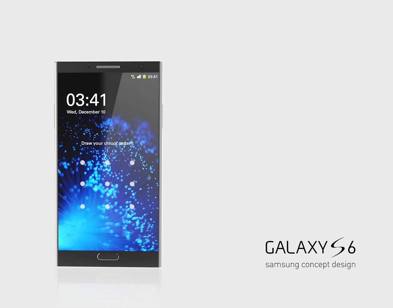 Samsung Galaxy S6 Render Created by Korean Designer Kyuho ...