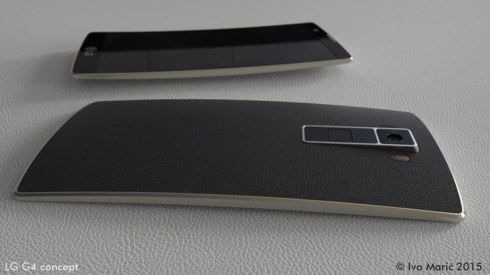 LG G4 Design Rendered by Ivo Maric: Full Metal Body and Curves (Video)
