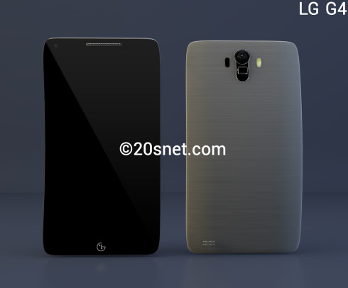 LG G4 New Render Makes the Device Feel More Like a Giant Phablet Than a Phone